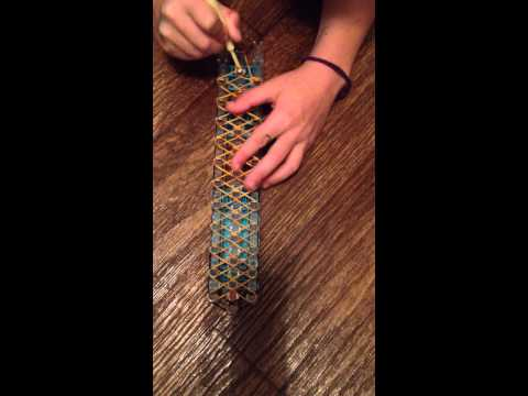 Rainbow Loom- Cobra stitch bracelet