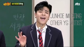 Video iKON JUNHOE aka KING of imitating Yg artist MP3, 3GP, MP4, WEBM, AVI, FLV Januari 2019