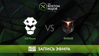 Ad Finem vs EHOME - The Boston Major, Группа D [CaspeRRR, Droog]