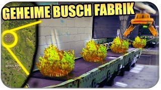 DIE GEHEIME BUSCH FABRIK | Fortnite Mystery Deutsch German