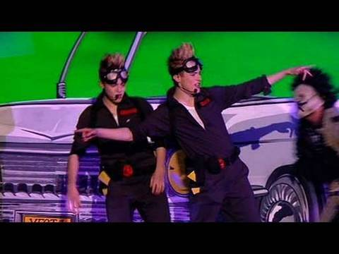 john and edward - The X Factor 2009: John and Edward make another memorable performance in the shape of Ghostbusters! Who you gonna call? See more at http://www.itv.com/xfactor.