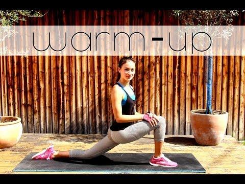 Dehnen - Aufwärmen - Streching fürs Workout Aufwärmübungen - Warm up