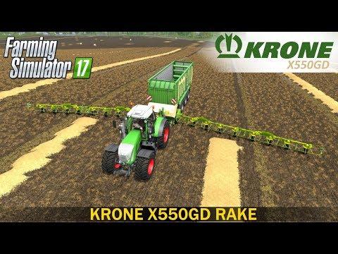 Krone X550GD Rake v1.0