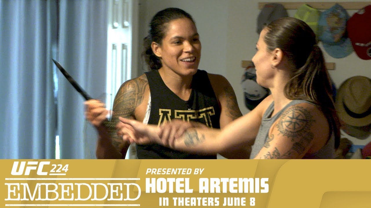 UFC 224 Embedded: Vlog Series - Episode 1