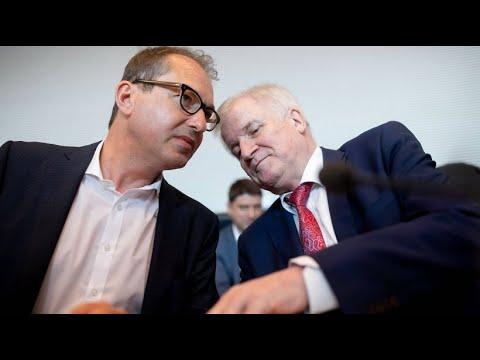CSU-Landesgruppenchef Dobrindt fordert sichere Außeng ...