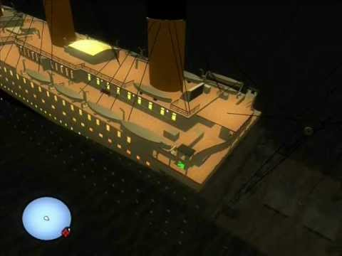 gta sa titanic bad night