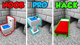 Minecraft NOOB vs. PRO. vs. HACKER: SECURE PRISON ESCAPE in Minecraft! (Animation)