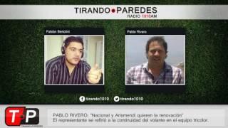"Pablo Rivero entrevistado en Tirando Paredes. -""Nos reuniremos con José Luis Rodríguez esta mañana. Esperemos que se..."