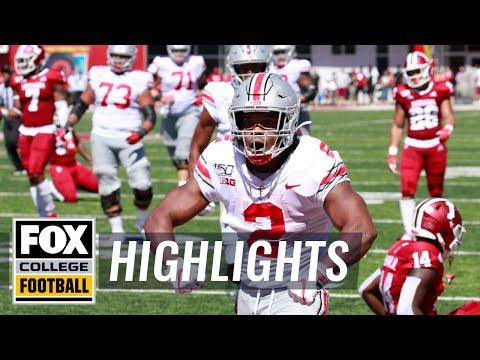 Video: Ohio State destroys Indiana 51-10 behind J.K. Dobbins | FOX COLLEGE FOOTBALL HIGHLIGHTS