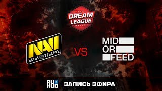 Natus Vincere vs Mid Or Feed, DreamLeague Season 8, game 1 [V1lat, DeadAngel]