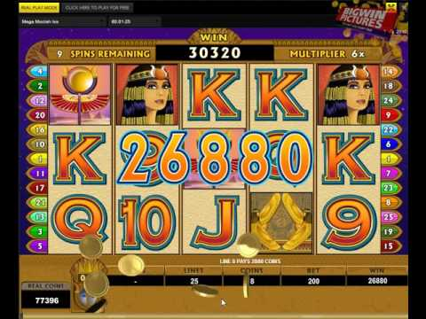 Isis Slot - BIG Wins With 2€ Bet!