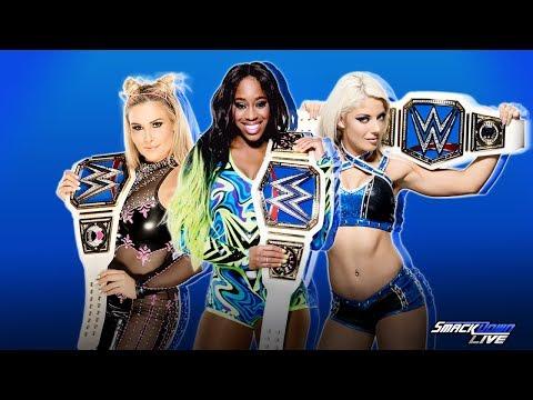 WWE SmackDown Women's Championship history 2016 -  2017...