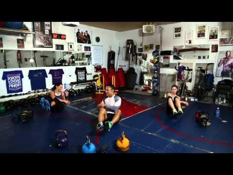 6. Kettlebell workout • Abs