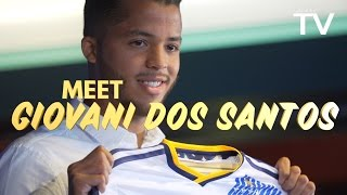 Meet newly signed LA Galaxy player Giovani dos Santos. Want to see more from the LA Galaxy? Subscribe to our channel at ...