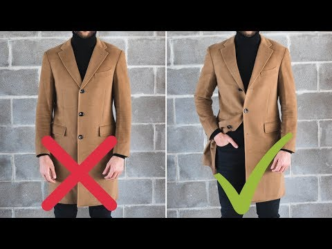 10 Golden Rules Of Overcoats