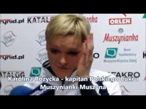Konferencja prasowa po meczu Polski Cukier Muszynianka Muszyna - Chemik Police, 25.01.2015 r.