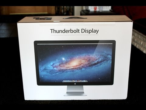 tldtoday - Apple Thunderbolt Display Purchase Link: http://goo.gl/5nMYN This is my unboxing of Apple's new 27
