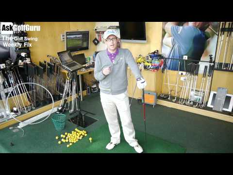 The Golf Swing Weekly Fix Distance From The Ball and Hitting Long Irons