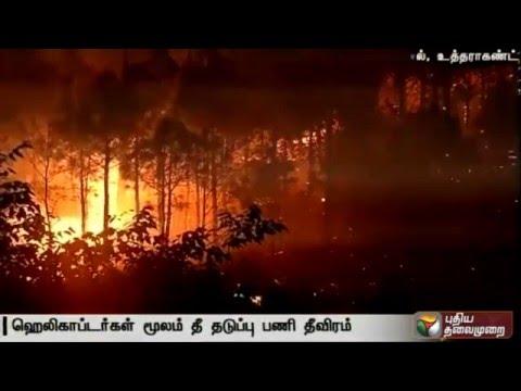 4-people-arrested-for-starting-forest-fires-in-Uttarakhand