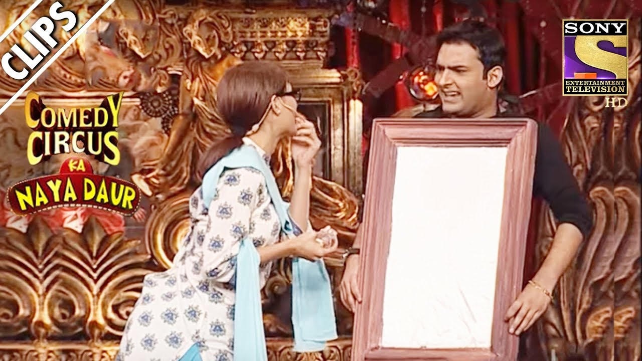 Shweta's Encounter With Kapil, A Dressing Table | Comedy Circus Ka Naya Daur