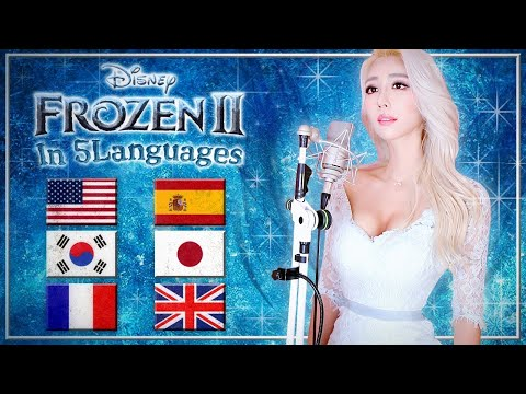 Frozen 2 - Into the Unknown (in 5 Languages) by Idina Menzel, AURORA Cover