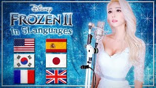 Video Frozen 2 - Into the Unknown (in 5 Languages) by Idina Menzel, AURORA (Cover by Melodi Park) download in MP3, 3GP, MP4, WEBM, AVI, FLV January 2017