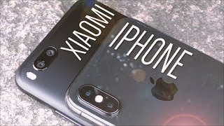iPHONE X против XIAOMI MI A1. Обзор камеры КСИОМИ Ми А1 и АйФон 10. Фото сравнение!