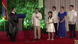 Rodrigo Duterte takes oath as PH's 16th President