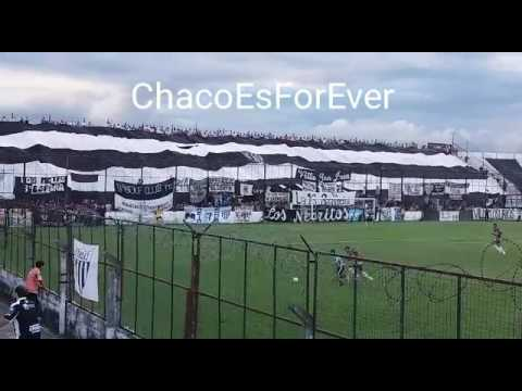 Hinchada Chaco For Ever - Juventud Antoniana - Los Negritos - Chaco For Ever