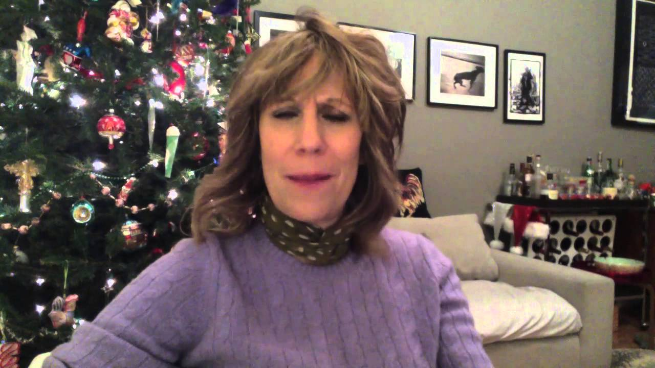 A Video Begging for Money Masking as a Holiday Greeting from Lizz Winstead