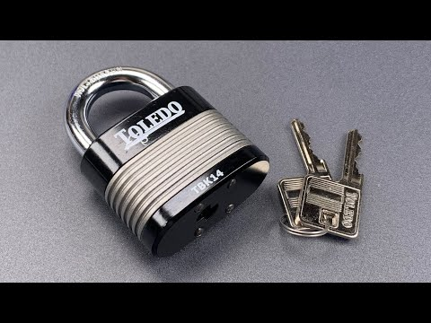 [1039] Better Than Expected: Toledo TBK14 Padlock Picked