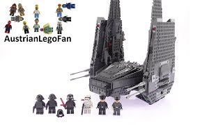 Lego Star Wars 75104 Kylo Ren´s Command Shuttle - Lego Speed Build Review