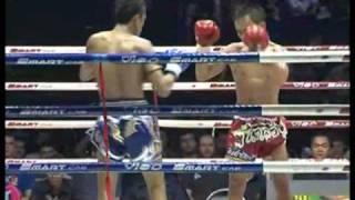 Wanchalong Sitzornong vs Werachai Wor Wiwatananont @ Lumpinee 19.10.10