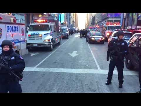 USA: Anschlagsversuch beim Times Square - Mehrere Ver ...