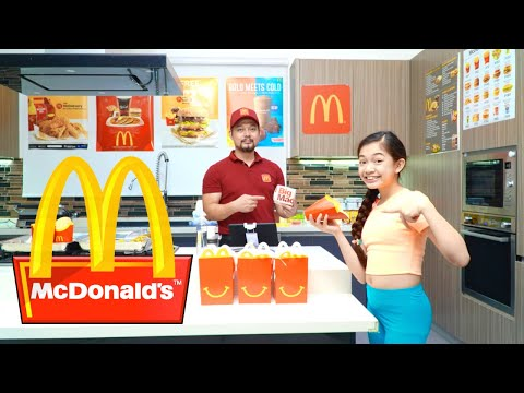 We Opened our own McDONALD'S at HOME | Kaycee & Rachel