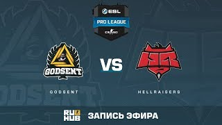 GODSENT vs HellRaisers - ESL Pro League S6 EU - de_cache [sleepsomewhile, Crystalmay]