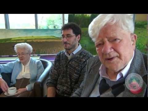 Interview of Richard Adams, Watership Down author, at Whitchurch Arts show (Nov 2012)