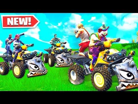 NEW QUADCRASHER ATV GAMEPLAY! NEW FORTNITE UPDATE SEASON 6
