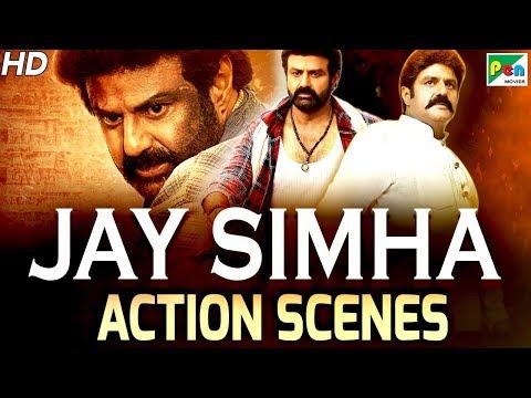 Jay Simha - Best Action Scenes   New Action Hindi Dubbed Movie   Nandamuri Balakrishna, Nayanthara