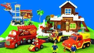 Video Feuerwehrmann Sam Feuerwehrautos & Mascha und der Bär, Paw Patrol, Lego Duplo Spielzeug für Kinder MP3, 3GP, MP4, WEBM, AVI, FLV Januari 2019