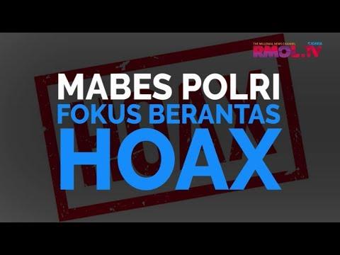 Mabes Polri Fokus Berantas Hoax