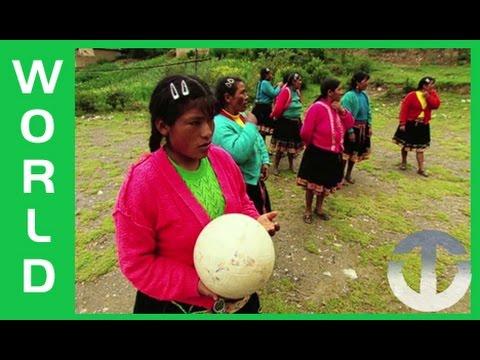 El Futbol femenino en los Andes peruanos