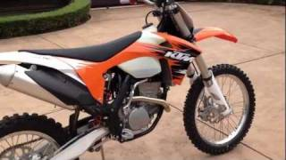 8. 2012 Ktm 250 XC-F Walk around