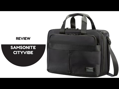 SAMSONITE Cityvibe Laptop Bag | First Impression Review