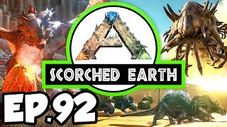 """ARK: Survival Evolved Scorched Earth DLC modded gameplay! ARK: Scorched Earth brings the ARK adventure into the perilous deserts of Scorched Earth full of all new dinosaurs, weapons, and adventures!▶︎ Let's try to hit 350 LIKES! :^DARK: Survival Evolved is a series where Waffle must survive in an open-world environment filled with dinosaurs! He must start from scratch, cut down trees, and occasionally snack on dinosaur poop... Join him on his journey to tame the best dinosaurs!▶︎ ARK: Scorched Earth series playlist- https://www.youtube.com/playlist?list=PL-JPD8A3qWVMfYdu273H6AwhCZIuNK9o4▶︎ ARK: Survival Evolved on Steam- http://store.steampowered.com/app/346110▶︎ ARK: Scorched Earth on Steam- http://store.steampowered.com/app/512540/▶︎ ARK: Scorched Earth mods InstalledAnnunaki Genesis- http://steamcommunity.com/sharedfiles/filedetails/?id=538986229Structures Plus (S+)- http://steamcommunity.com/sharedfiles/filedetails/?id=731604991Death Helper- http://steamcommunity.com/sharedfiles/filedetails/?id=566885854Better Prime Meat- http://steamcommunity.com/sharedfiles/filedetails/?id=620123794Super Spyglass- http://steamcommunity.com/sharedfiles/filedetails/?id=793605978Better Milk- https://steamcommunity.com/sharedfiles/filedetails/?id=770949087▶︎ Outro Music: Gramatik - """"Native Son Prequel feat. Leo Napier""""- https://www.youtube.com/watch?v=q-_qX74UJKE- https://open.spotify.com/album/3aPvdKnM4IAKcKqTHHFbMs————————————————————————Follow Me On Twitter! :^Dhttp://twitter.com/waffleverse"""