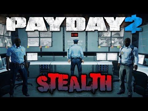 Beneath the Mountain STEALTH! - Payday 2 Blackridge Facility (Custom Heist) (видео)