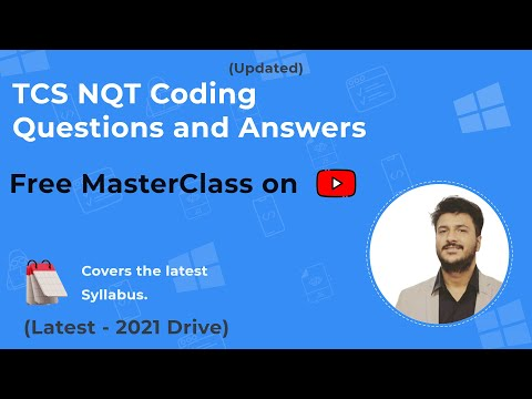 (Most Asked) TCS NQT Coding Questions and Answers 2021