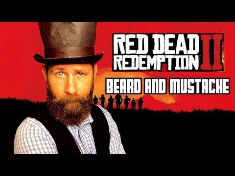 Beard oil - Red Dead Redemption 2 Mustache & Beard  Arthur Morgan Look!!!