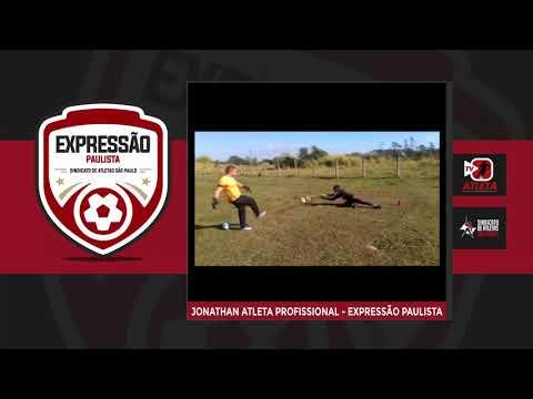 Goleiro do Expressão Paulista segue rotina de treinos durante a pandemia
