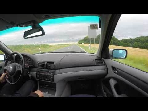 BMW 320d e46 - Test Drive - Nice Accelerations